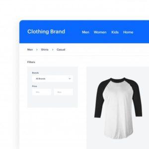 网站基于产品属性